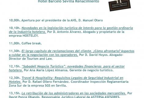 reunión asociación de hosteleros de Sevilla