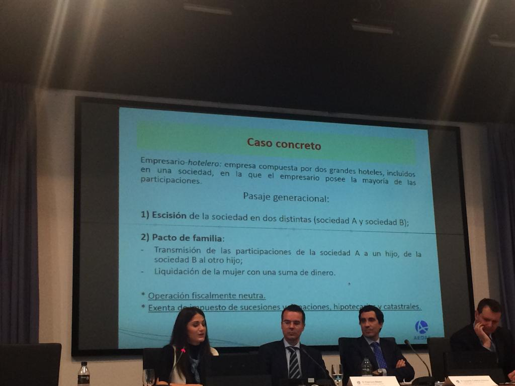 """""""LA EMPRESA FAMILIAR: ASPECTOS MERCANTILES Y FISCALES"""""""