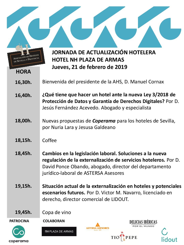 JORNADA DE ACTUALIZACIÓN HOTELERA